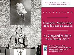 François Mitterrand, dans les pas de Jaurès