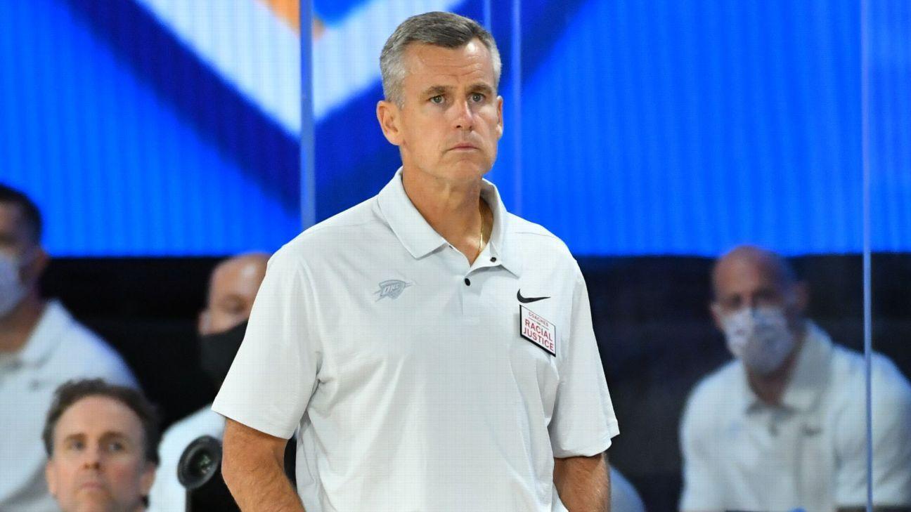 Billy Donovan nouvel entraîneur-chef des Chicago Bulls