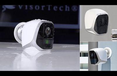 Caméra de vidéo surveillance extérieure sur batterie / piles
