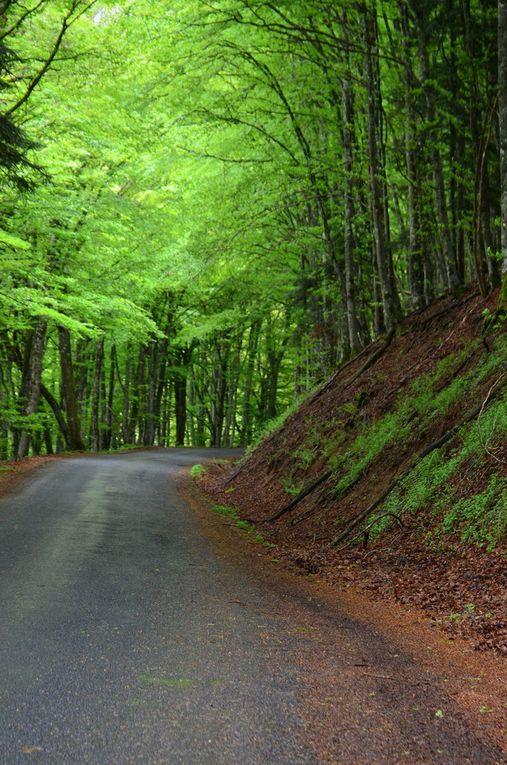 La douce Auvergne a vélo