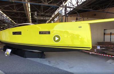 Scoop - première visite guidée du nouveau RM 1180 du chantier Fora Marine (La Rochelle)