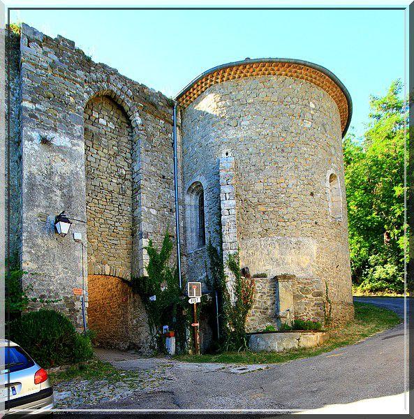 Diaporama fortifications de Châteauneuf de Mazenc - La Bégude de Mazenc