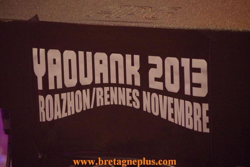 Ce samedi 23 novembre, se déroulait au parc des expositions de Rennes Saint-Jacques, le plus grand Fest-Noz de Bretagne, dans le cadre du festival YAOUANK 2013