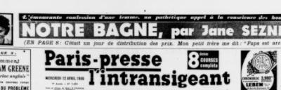 La vraie vie des Le Her Seznec de 1935 à 1949...