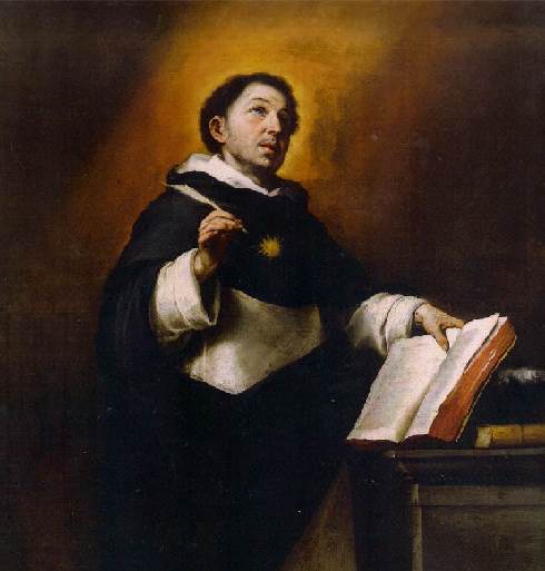 """""""La visión de San Agustín"""", Carpaccio; """"San Agustín"""", Caravaggio; """"Apoteosis de Santo Tomás"""", Zurbarán:"""" Santo Tomás"""" , Logroño."""