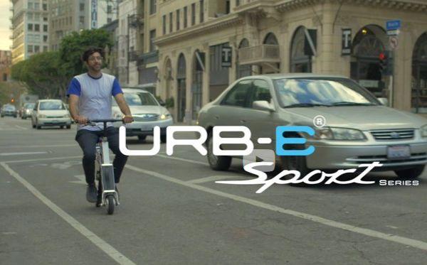 Innovation produit : Urb-E, un nouveau moyen intelligent pour se déplacer