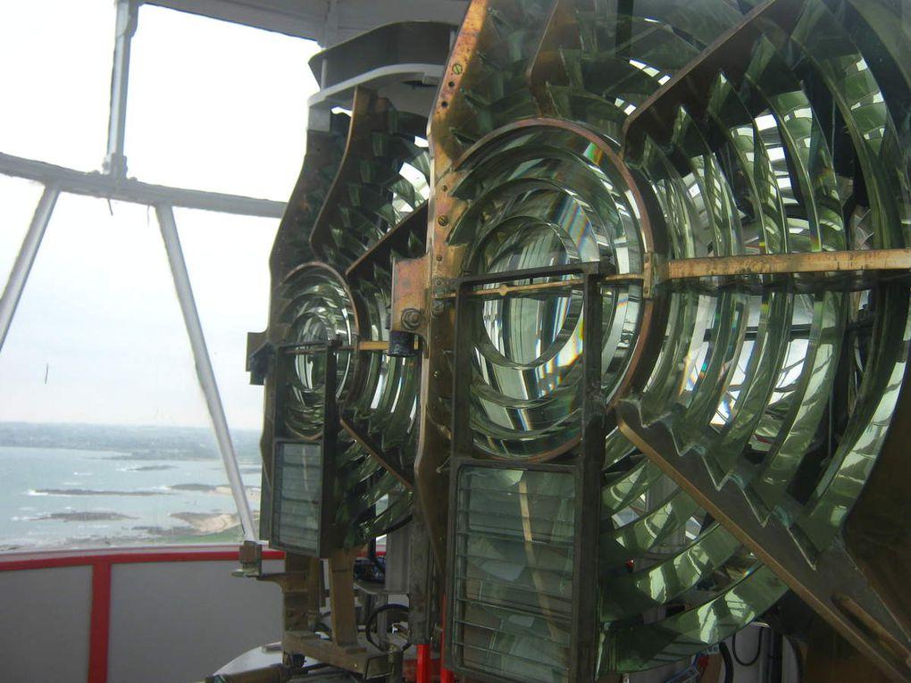 En haut du phare de Gatteville