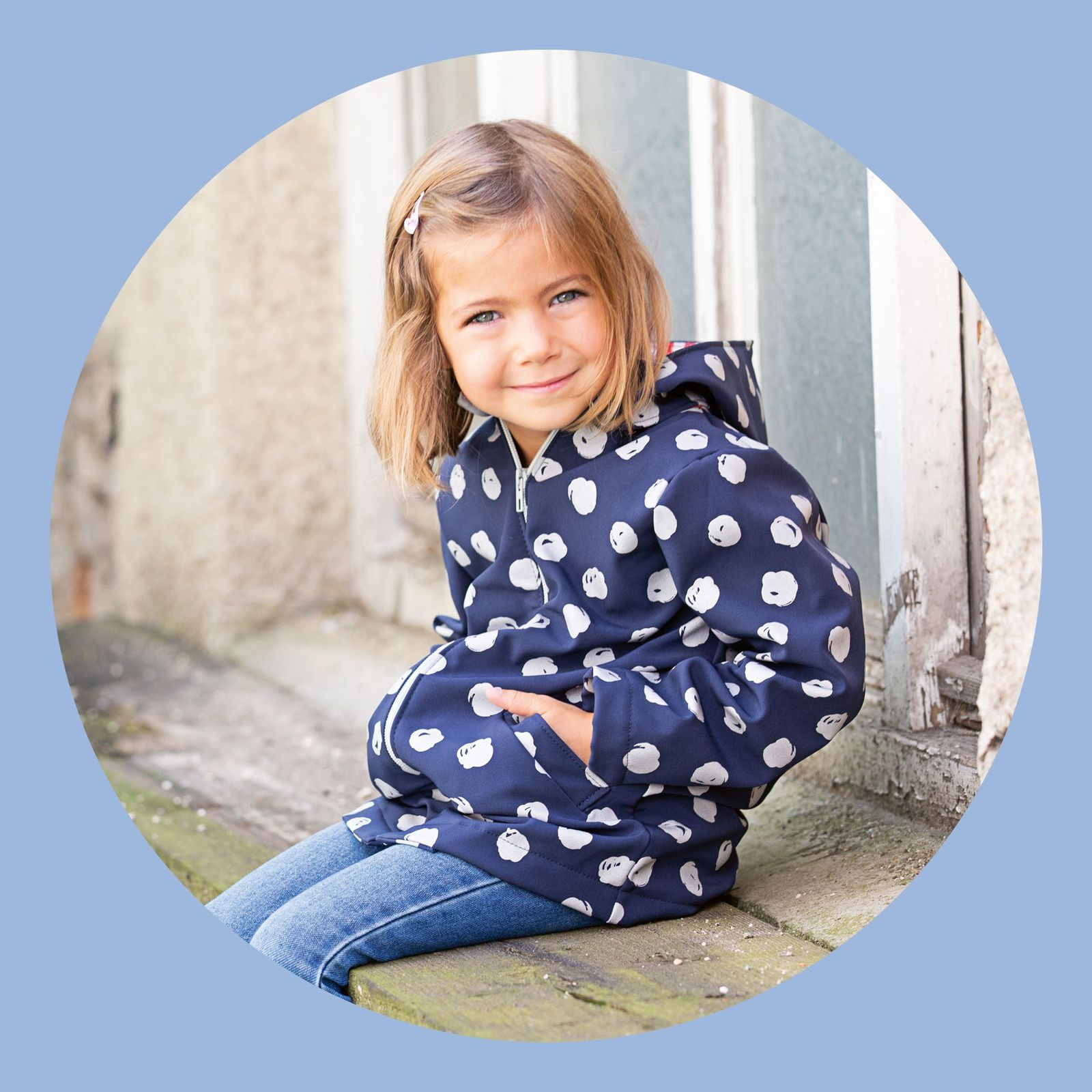 Manteau enfant en Softshell