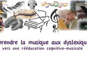 Formation - Apprendre la musique aux dyslexiques : une remédiation cognitivo-musicale - 10-11 mai 2013