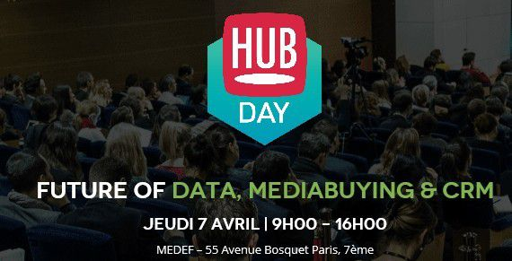 Buzz : Conférence HUBDAY Future of Data à Paris le 7 avril 2016