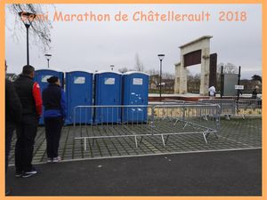Semi marathon de Châtellerault  2018.