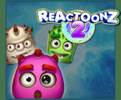 machine a sous en ligne Reactoonz logiciel Play'n Go