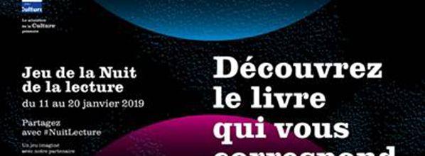 Nuit de la lecture : jeu de découverte littéraire et concours-photo Instagram