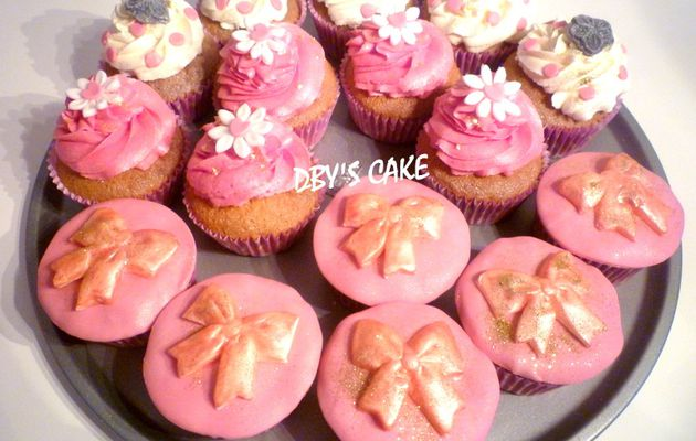 Cupcakes Noeuds & Pois
