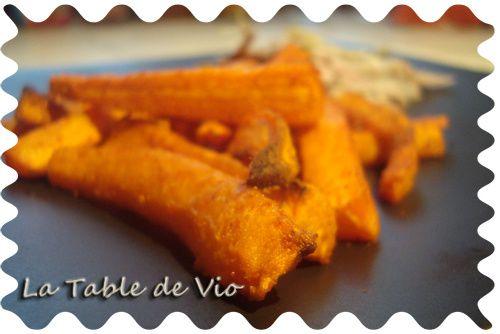Frites de carottes (au four)