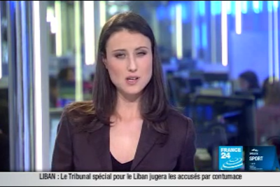 2012 02 01 @22H00 - AUDE LECHRIST, FRANCE 24, PARIS DIRECT