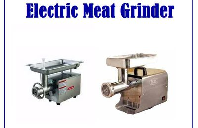 Super Quality Electric Meat Grinder – Made in America