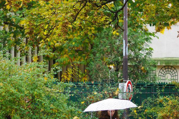 La liseuse du square Alban Satragne à Paris