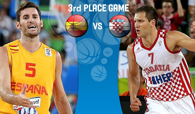 Which the Roja and Croatia win the bronze medal?