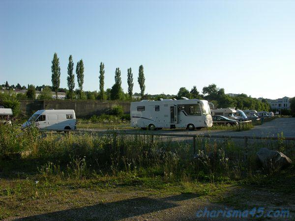 Aire de camping-car de Passau, Allemagne en camping-car