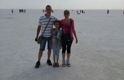 Camminare sul Lago Salato (Tuz Gölü) - Turchia