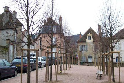 Quartier de la cathédrale : la place Refitou.