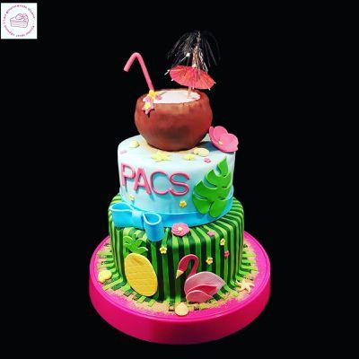 Gâteau Tropicool