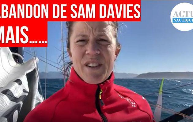 Vendée Globe 2020 - abandon de Samantha Davies, qui va quand même continuer !!