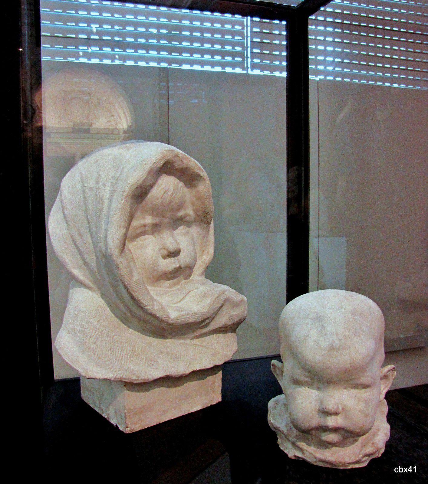 Lucien Schnegg, Tête d'enfant et buste d'enfant