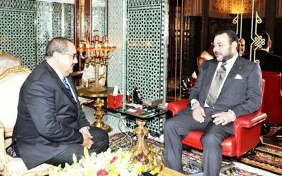 جلالة الملك محمد السادس، يهنئ إدريس لشكر بمناسبة إعادة انتخابه كاتبا أول لحزب الاتحاد الاشتراكي للقوات الشعبية.