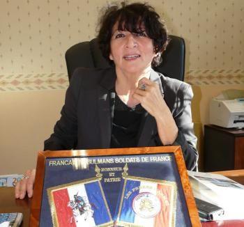 Hélène Lagleyre, à la tête du service central des rapatriés à Agen.