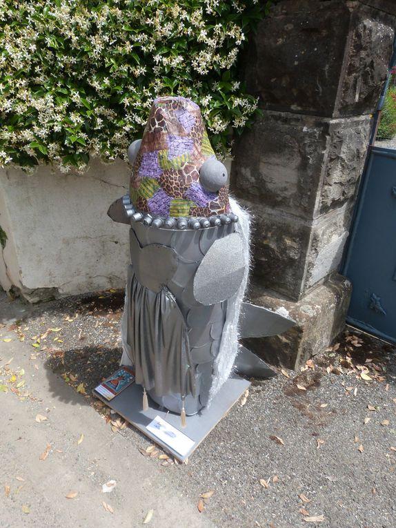 Les créations amateurs sur le thème Bizz'art dans les rues du village