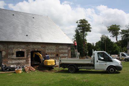 La toiture du Vieux Pressoir est terminée !
