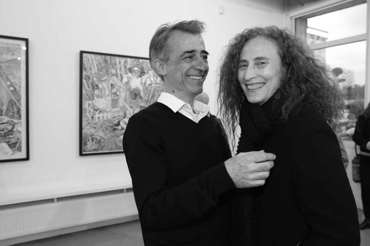 Marcos Carrasquer, Daniela Hopstein