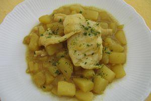 Curry de Panga au lait de Coco