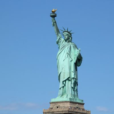 Statue of Liberty & Empire State Building