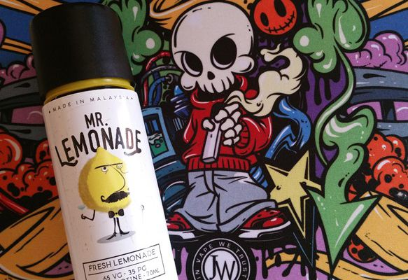 Test - Eliquide - Mr Lemonade de chez My's Vaping