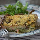 Tian de blettes au riz - Le blog de C'est Nathalie qui cuisine