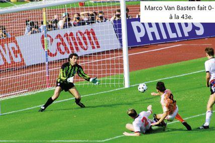 Championnat d'Europe des nations 1988 en Allemagne de l'ouest, Groupe 2: Angleterre - Pays-Bas