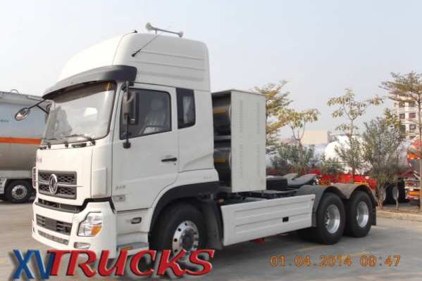 1/Tracteur Dongfeng  6x4 375 - LNG - Trucks Dongfeng China - Camiones Tractores Dongfeng China - Китай тракторы грузовики - شاحنات الجرارات الصين