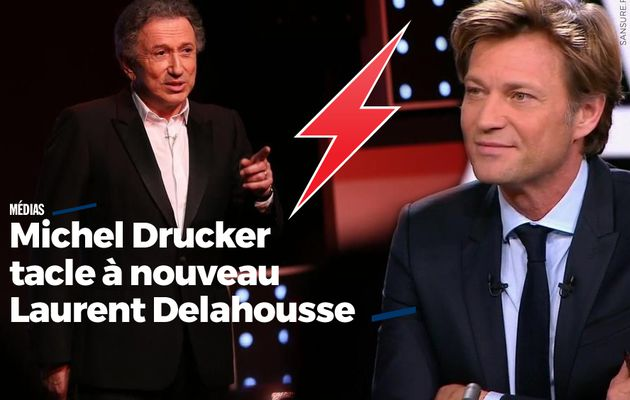 Michel Drucker tacle à nouveau Laurent Delahousse #clash