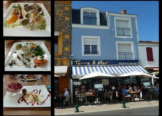 Restaurant Terre et Mer / Les Sables d'Olonne (la chaume)