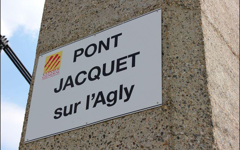RIVESALTES (le pont Jacquet)