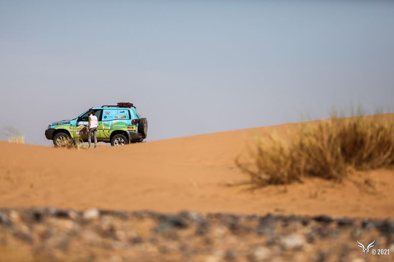 etape 2 pour equipage 129 anne sophie et perrine rallye des gazelles.