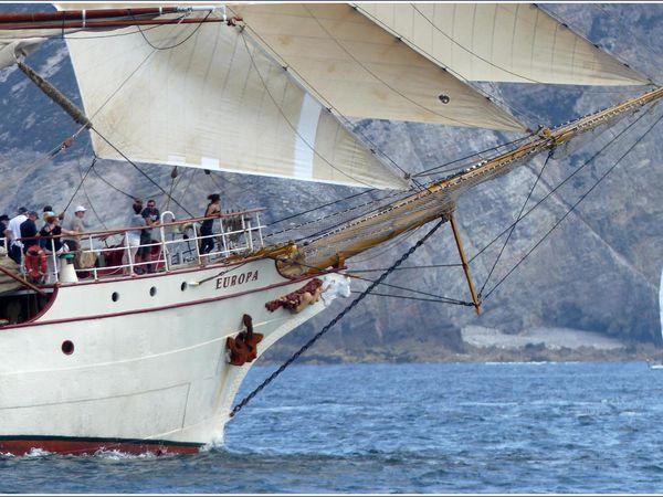 300 - EUROPA Trois-mâts-barque hollandais de 1911 photos © GeoMar Brest Douarnenez 2016