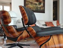 Réparation de Eames lounge