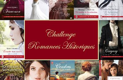 Challenge romances historiques 2021