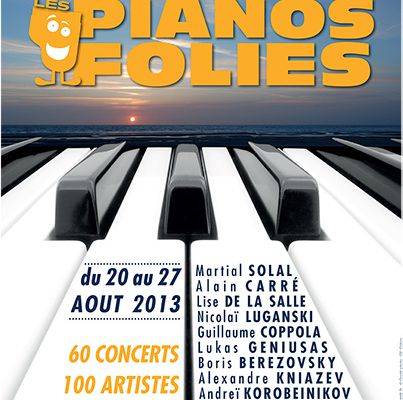 Un grain de « Pianos Folies » au Touquet-Paris-Plage