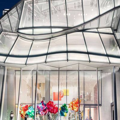 DISCOVER THE LOUIS VUITTON FLAGSHIP STORE IN SEOUL, A COLLABORATION WITH ARCHITECTS FRANK GEHRY AND PETER MARINO.