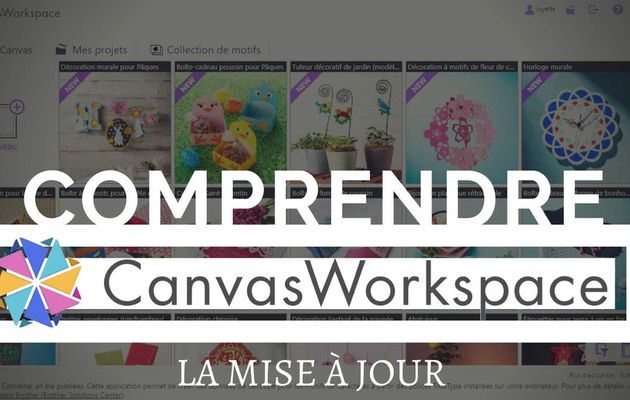 La Mise à Jour, Canvas Workspace